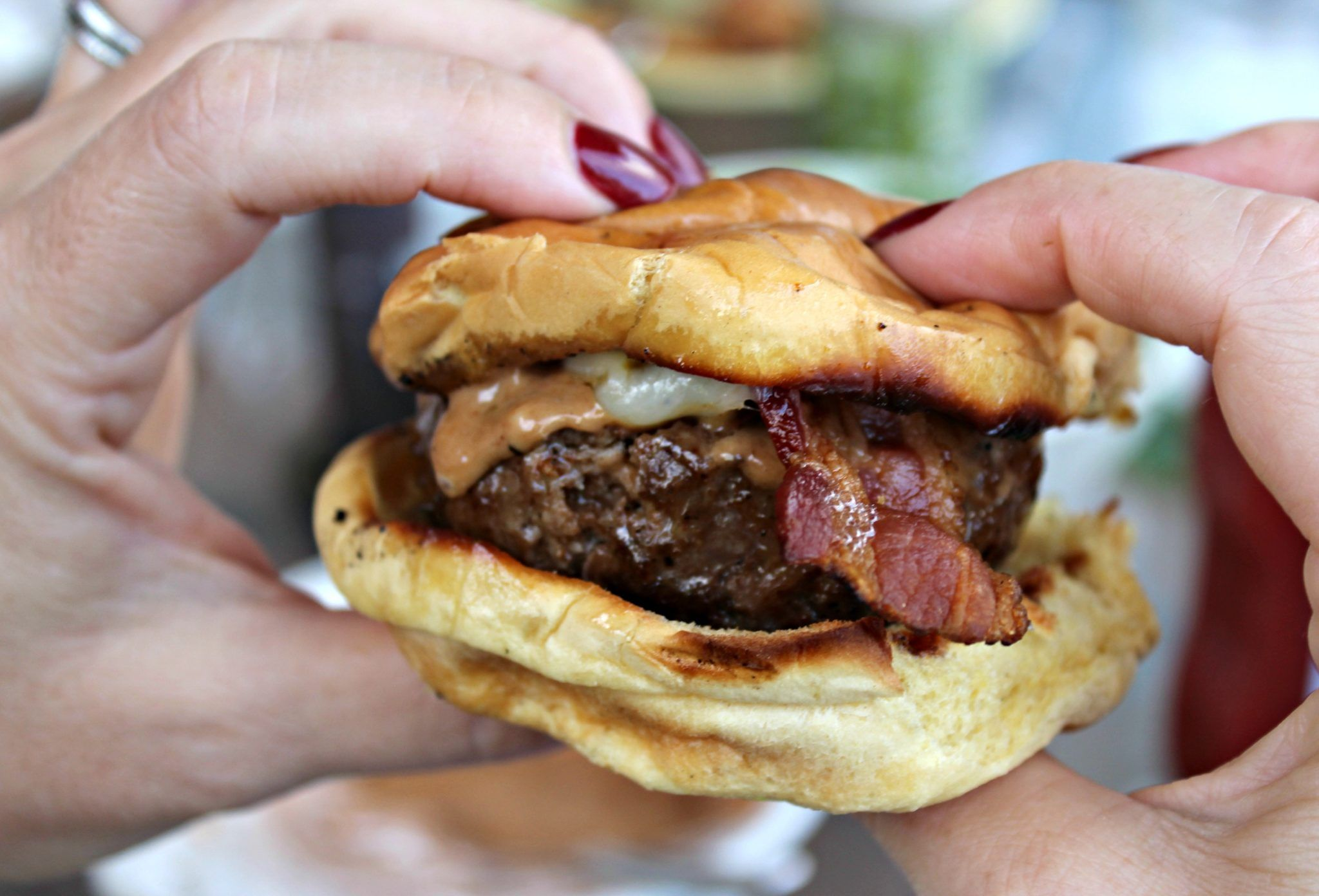 Copycat Recipe Homemade Burgers and Red Robin's Campfire