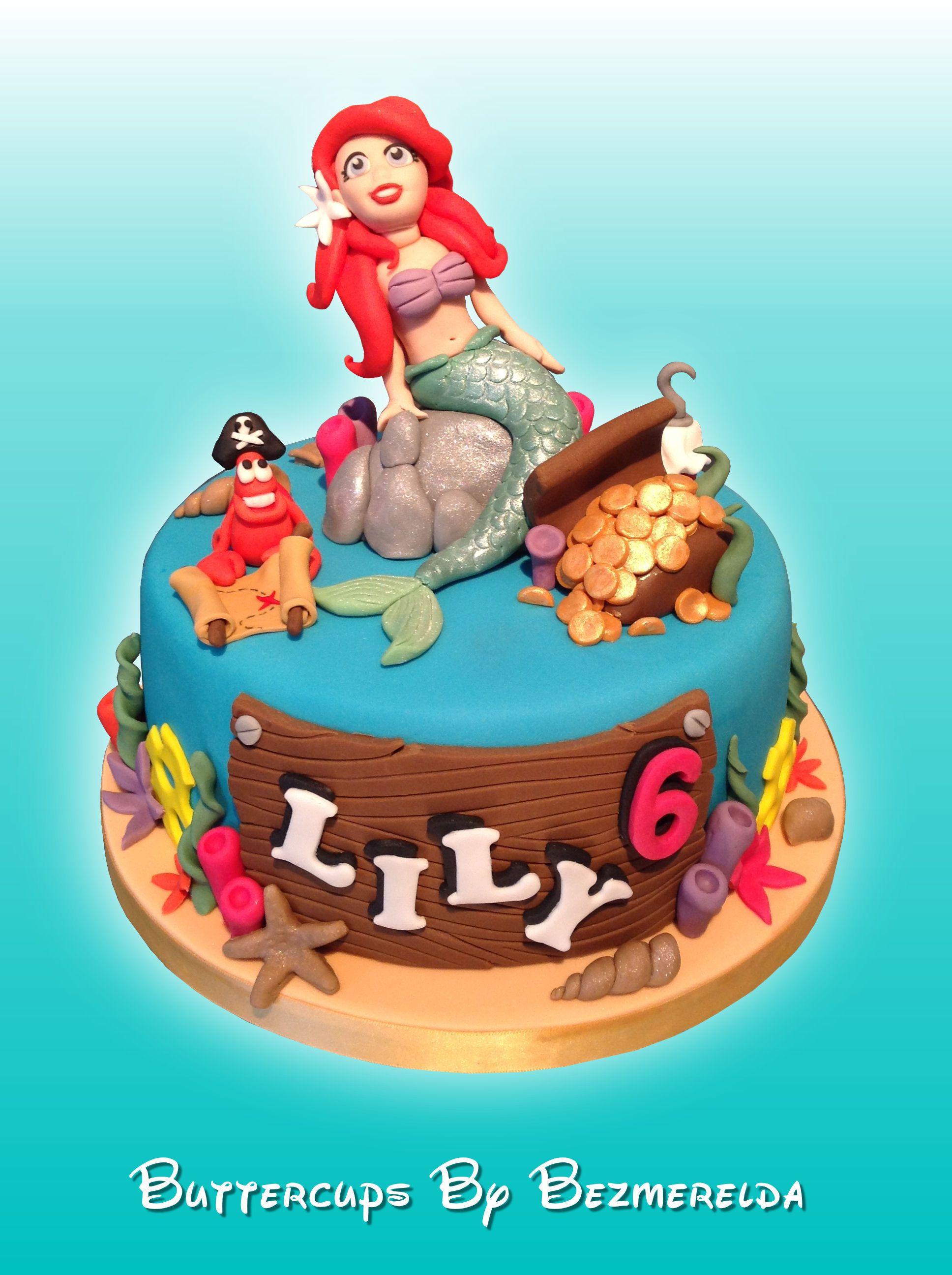 Little mermaid cake mermaid cakes little mermaid cakes