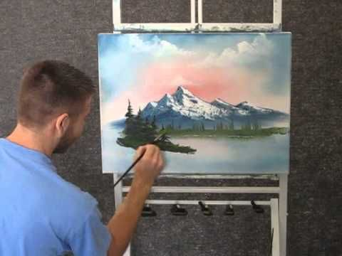 Paint with Kevin Hill - Unedited Mountain