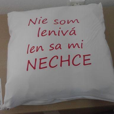 "Vankúš ""Lenivá"" za 6,90€ | Jaspravim.sk"