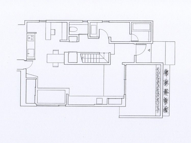 Gallery Of House Renovation Form Kouichi Kimura Architects 23 Ground Floor Plan Renovations Floor Plans