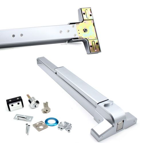 Emergency Push Bar Panic Exit Device Door Lock Hardware Commercial 30 36 Door Ebay Link Installation Construction Hardware