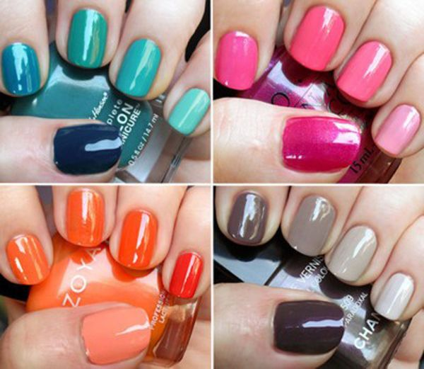 Ombre - Pops of Color for Bridesmaids