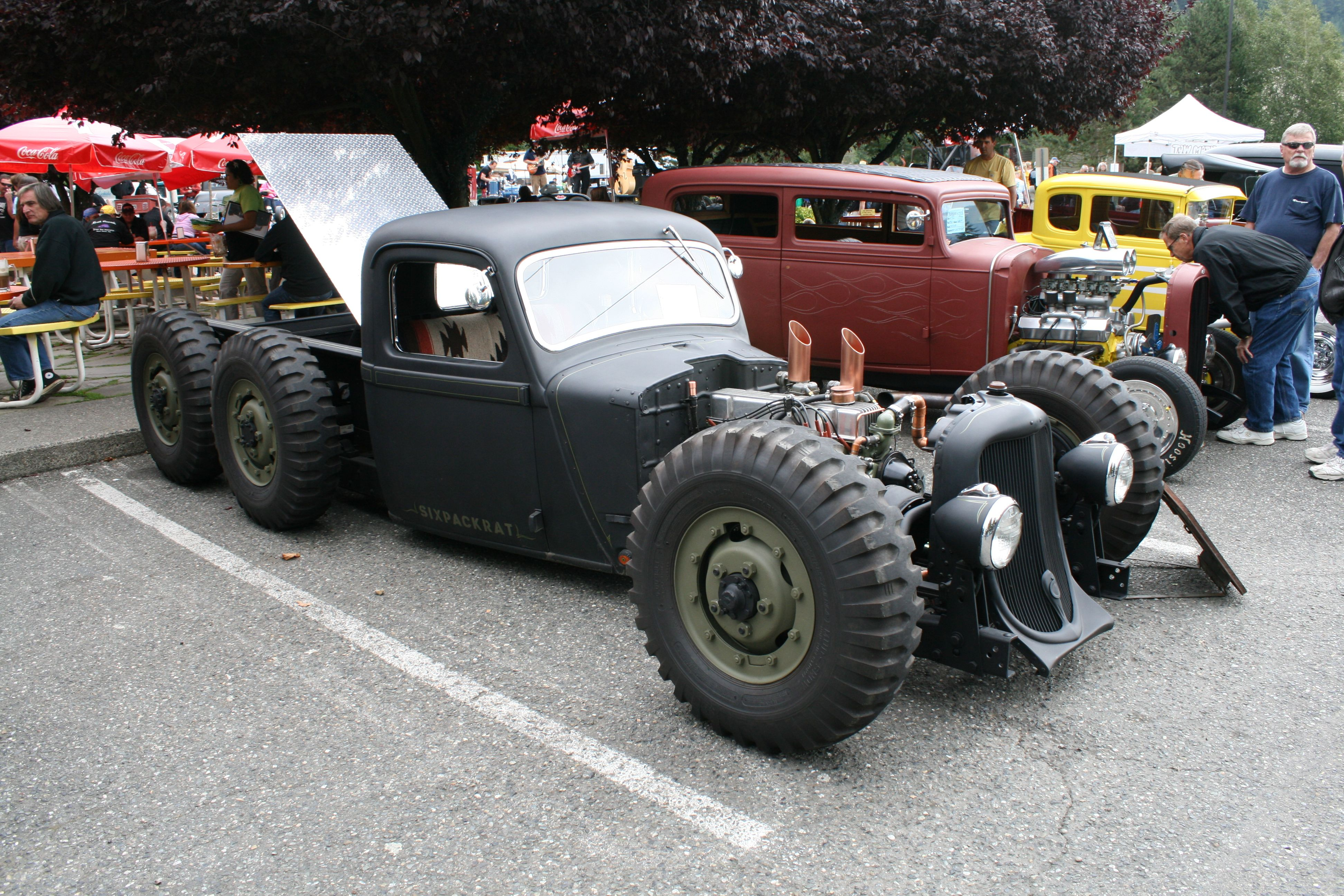 www.old classic hotrods.com | hot rod pickup mixes its | muscle ...
