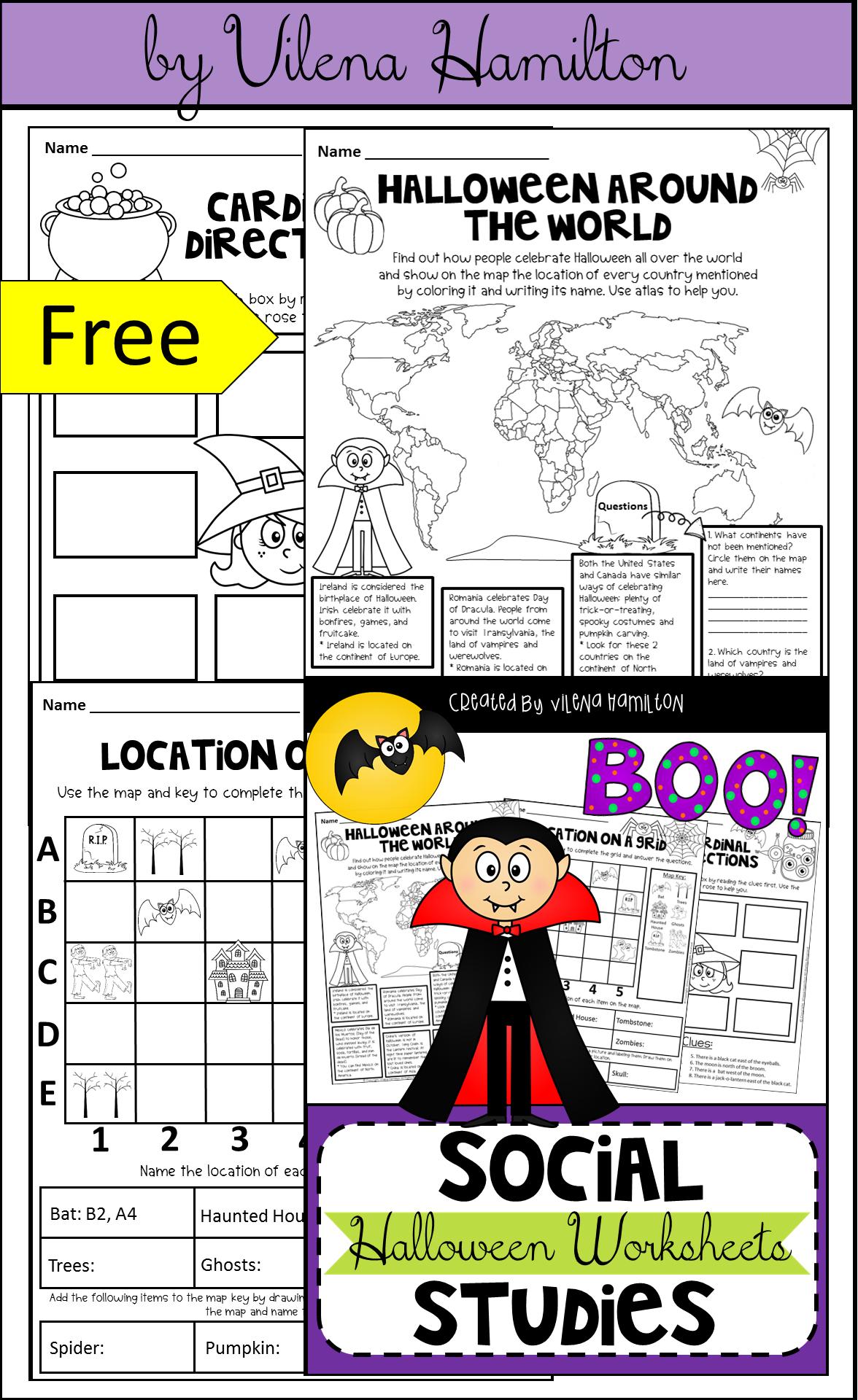 Halloween Social Stu S Worksheets