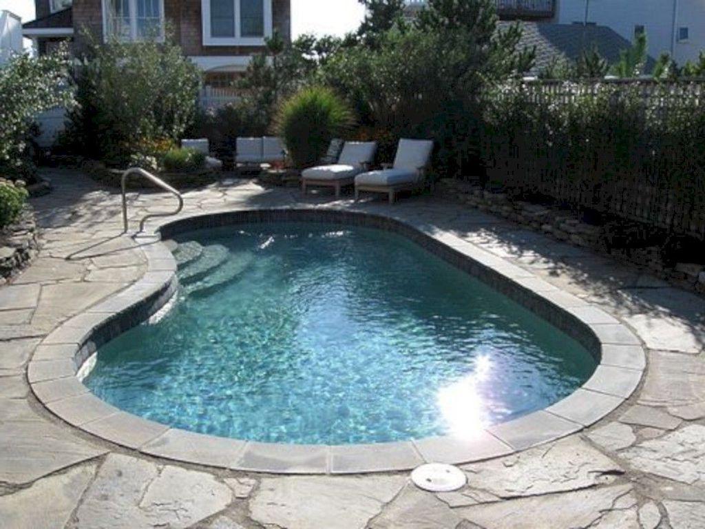 37 Modern Small Pool Design Ideas For Your Backyard Decor 30 Best Home Design Ideas In 2021 Small Pool Design Small Inground Pool Small Pools