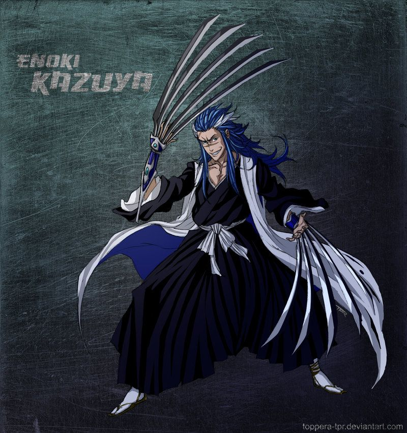 Bleach Oc Arashi By Sickeld160 On Deviantart: Bleach OC Enoki Kazuya By Sarzill.deviantart.com On