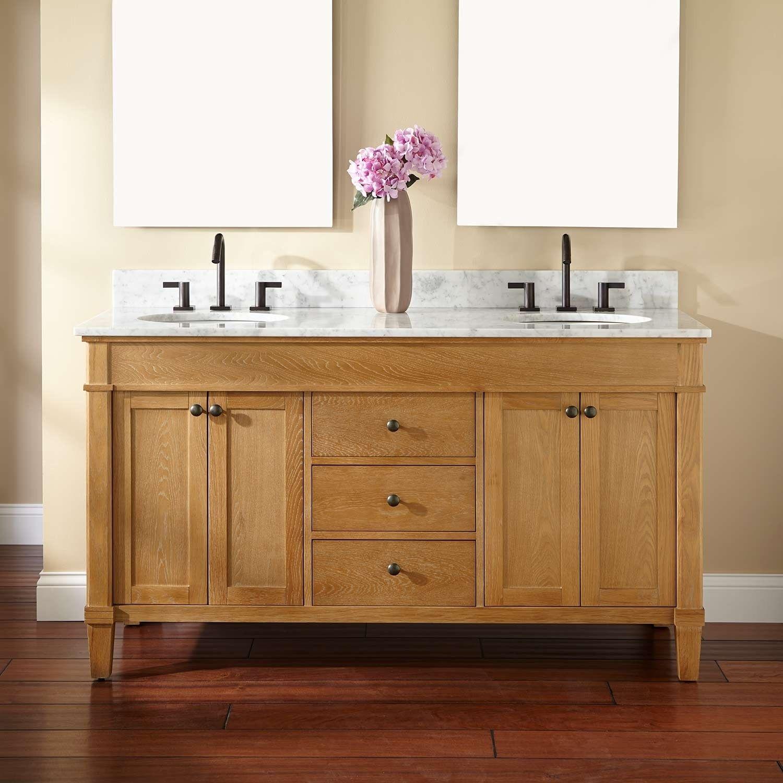 60 Quot Marilla Double Vanity For Undermount Sinks Badezimmerschrank Holz Waschbeckenunterschrank Badezimmer