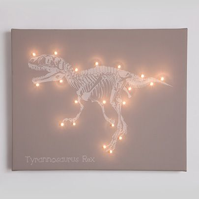 fairy lights wall decals - Google Search | Boys dinosaur ...