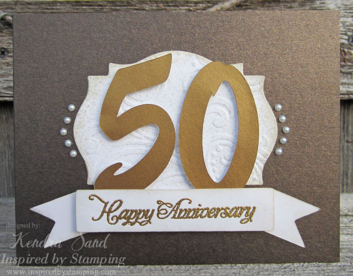 Good morning! recently i had a lady request two 50th anniversary