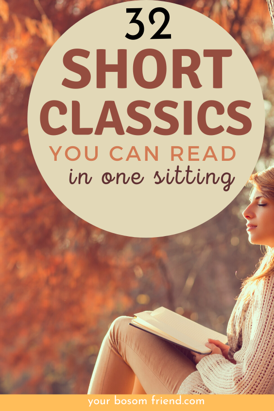 Looking for great classics to read but can't read long books? Try reading these awesome list of short classic novels under 250 pages. These short books can help you read more . Add these great classics to your reading list and start day with great works of literature. Best quick reads  Best quick reads for women  best classics to read #BookList #ReadingList #BookRecommendations #MustRead