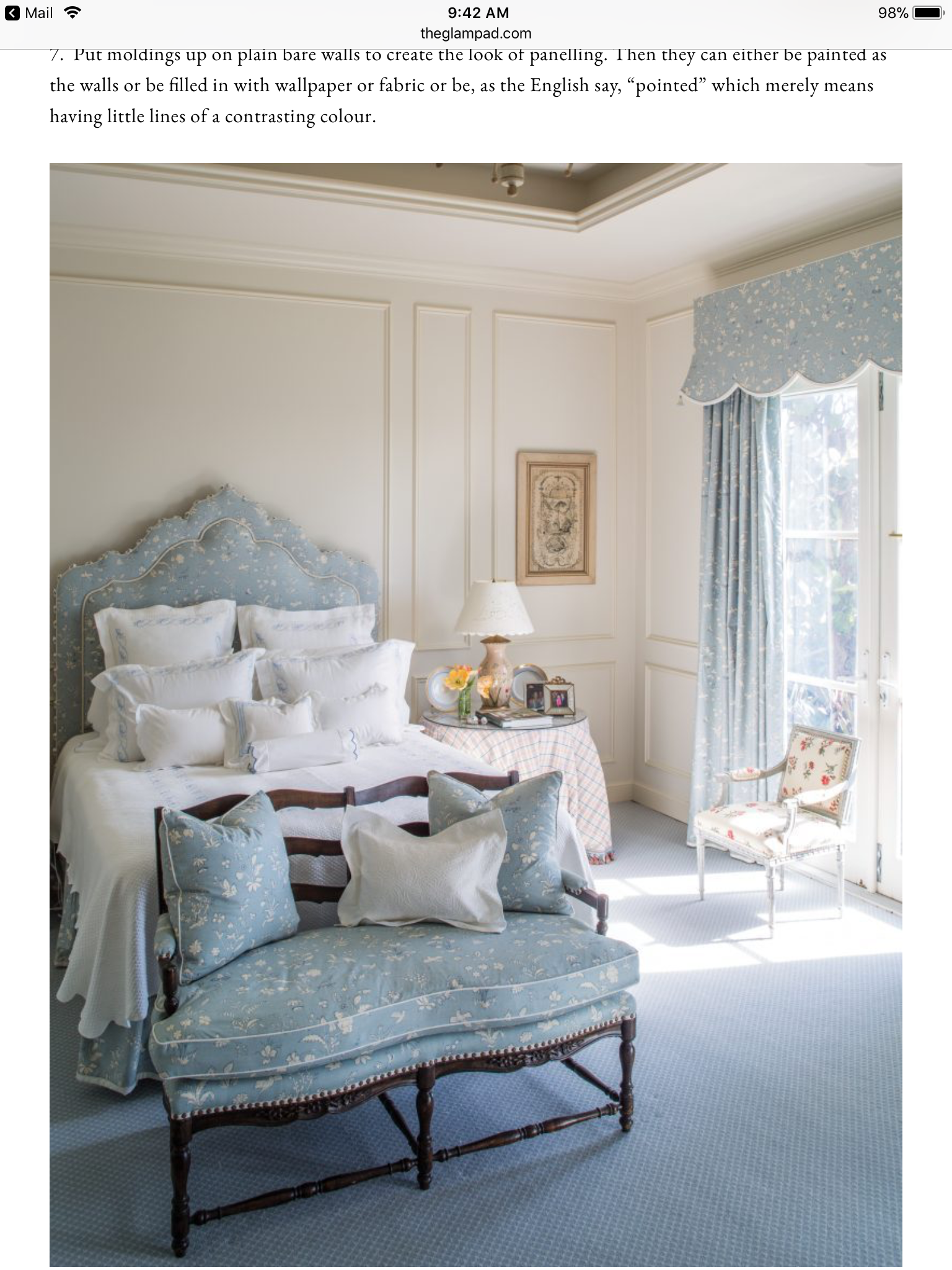 Blue Bedroom Furniture: Pin By Stacey Kruchko On Bedrooms In 2019