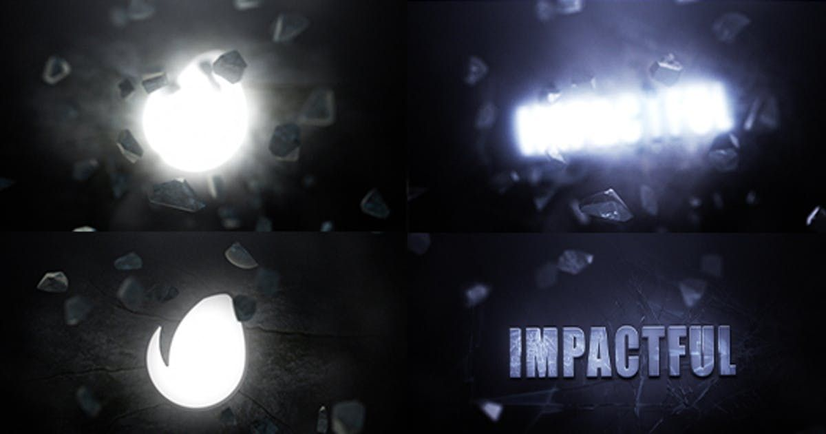 Impactful By Make Believe On Logo Reveal After Effects