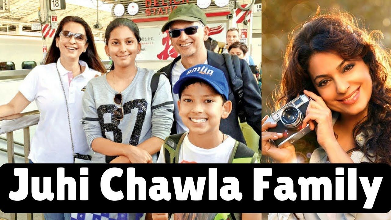 Juhi Chawla with Family Members | Husband,Daughter & Son
