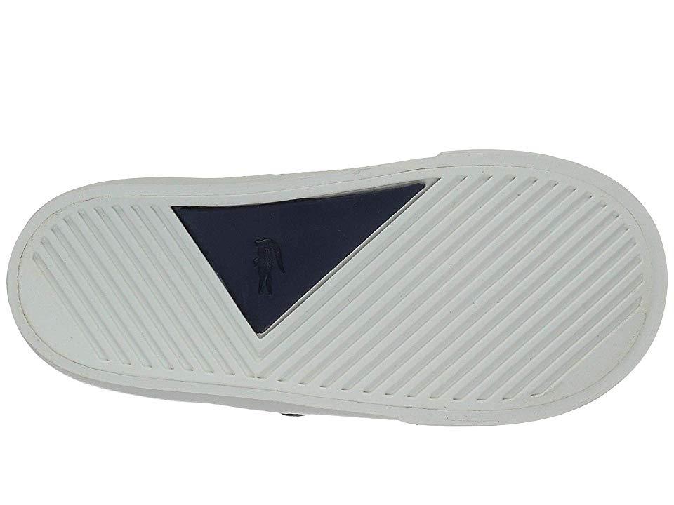 60e3b824e Lacoste Kids Esparre Chukka 318 (Toddler Little Kid) Boy s Shoes Navy Dark  Tan