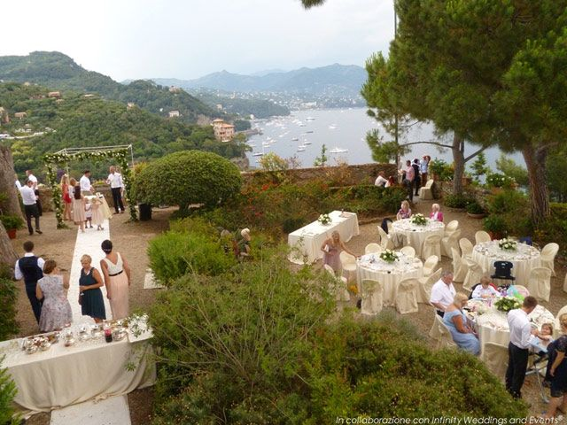 Wedding location - Castello Brown - Portofino | Wedding Locations ...