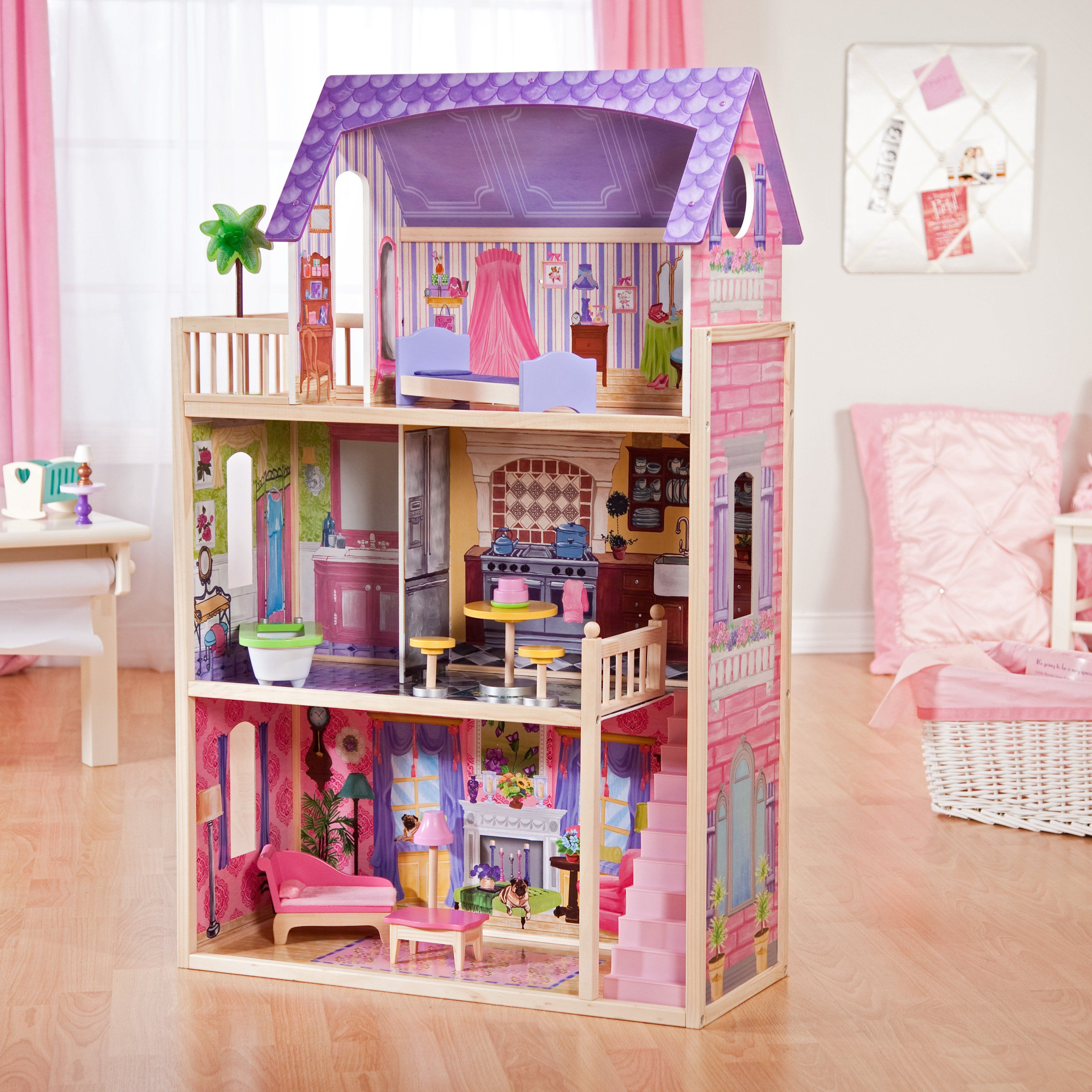 10 awesome barbie doll house models - Kidkraft Kayla Dollhouse The Kidkraft Kayla Dollhouse Is Perfect For Young Girls Who Want Their