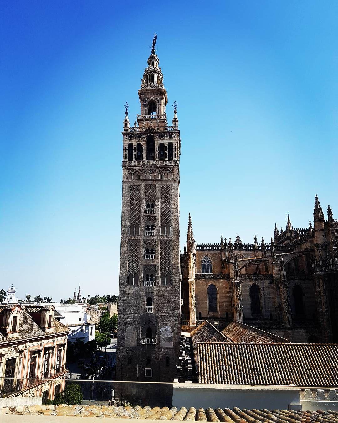 Desde La Terraza Del Hotel Eme Sevilla Seville Giralda
