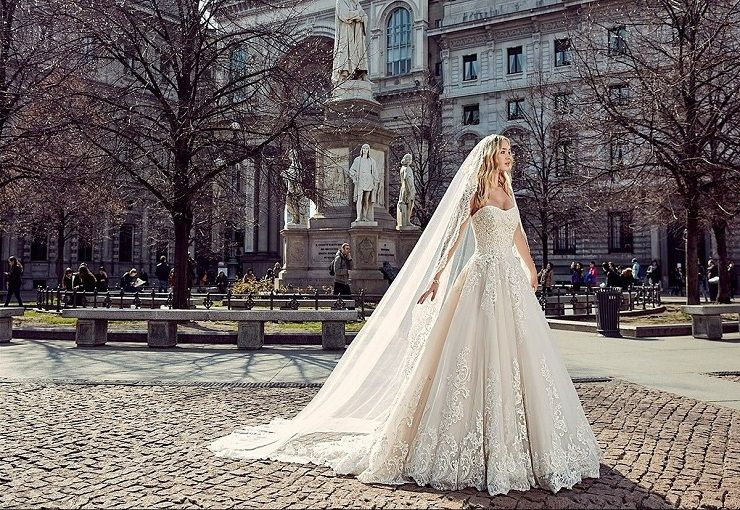 Eddy K Milano Style MD197 - Sleeveless, Ball Gown wedding dress | itakeyou.co.uk #weddingdress #wedding #weddingdresses #weddinggown #bridalgown #bridaldress #weddinggowns #engaged