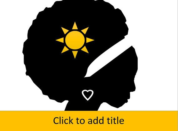 African american woman in silhouette afro powerpoint template items similar to african american woman in silhouette afro powerpoint template on etsy toneelgroepblik Choice Image