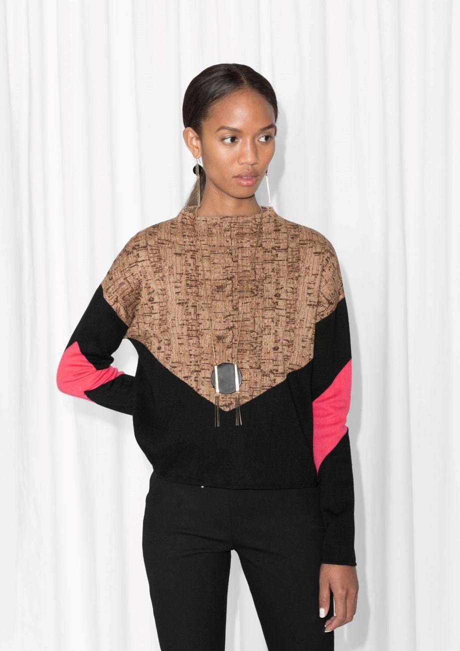 75934433f84c Cork Oak Print Sweater