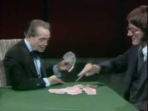Tony Slydini - The Helicopter Card - #Magic #Illusion #Magician
