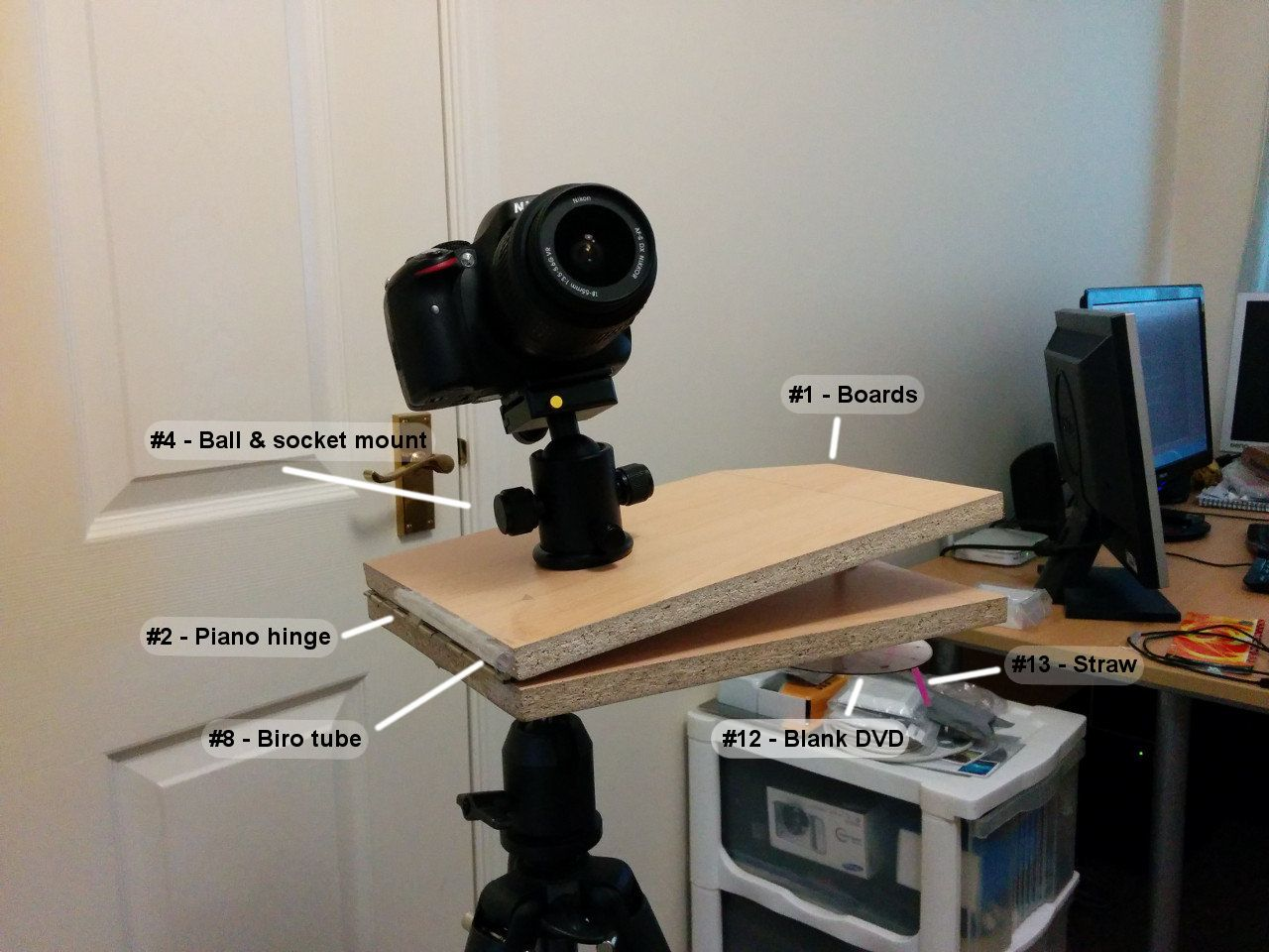 How To Build A Barn Door Tracker Parts List Instructions