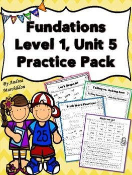 Fundations Unit 7 Glued Sounds | First Grade Literacy | Pinterest