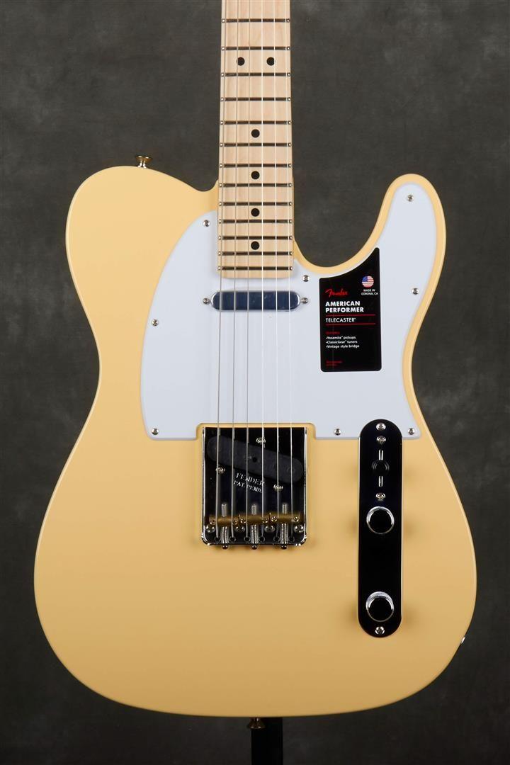 Fender American Performer Telecaster - MN - Vintage White #fendertelecaster