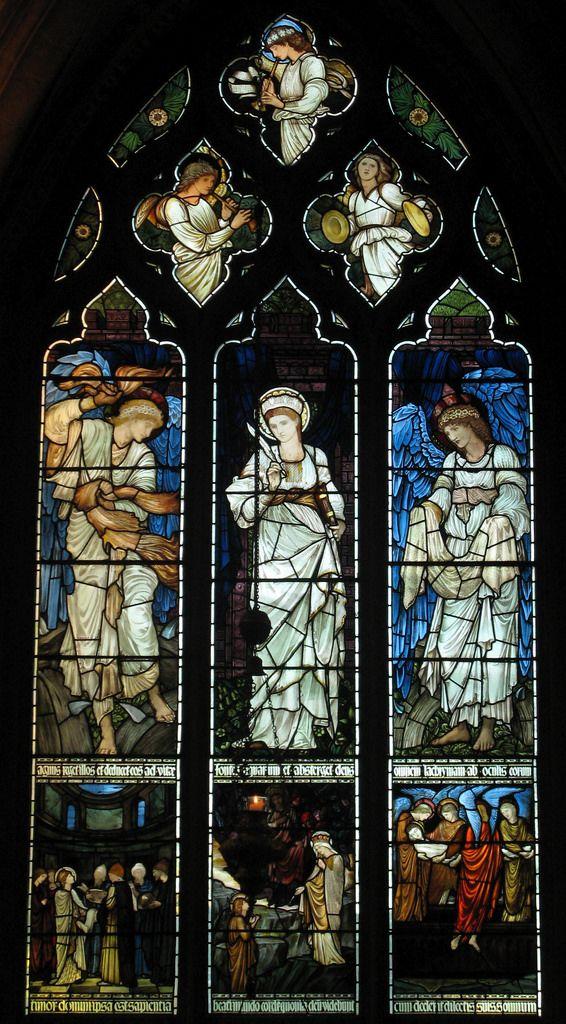 Stained Glass, Christ Church | by Edward Burne-Jones