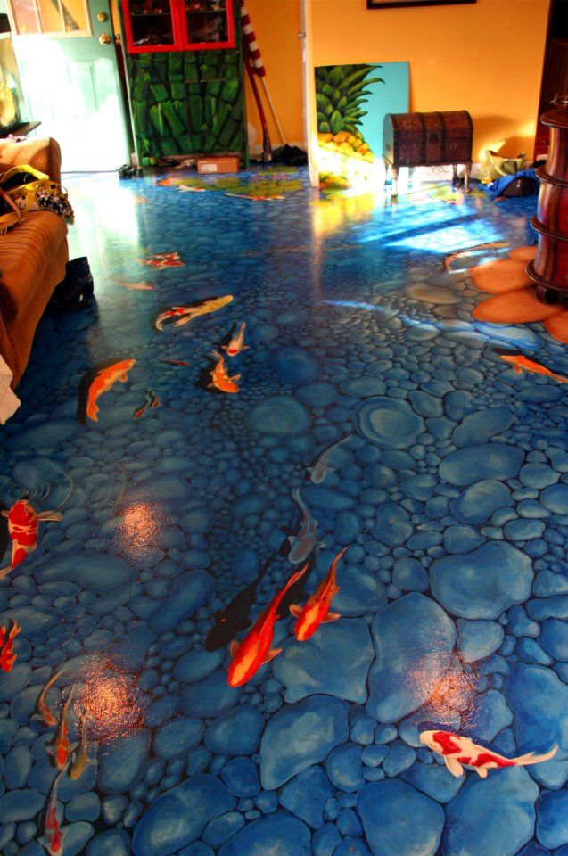 I love this idea, I can't stand carpet. Plenty Of Fish In