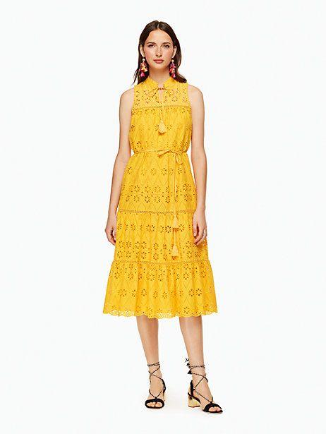 bd51b1f4dc1 Kate Spade Eyelet Patio Dress