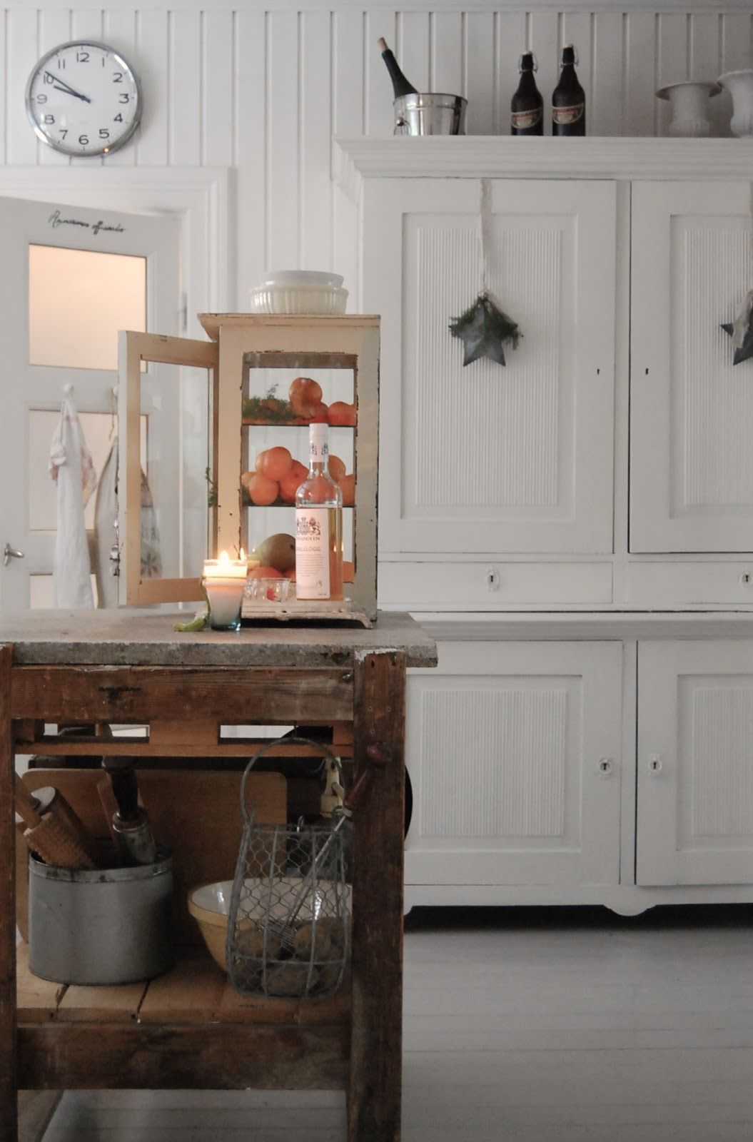rustic white country kitchens. Rustic White Interior - Kitchen HVÍTUR LAKKRÍS Country Kitchens
