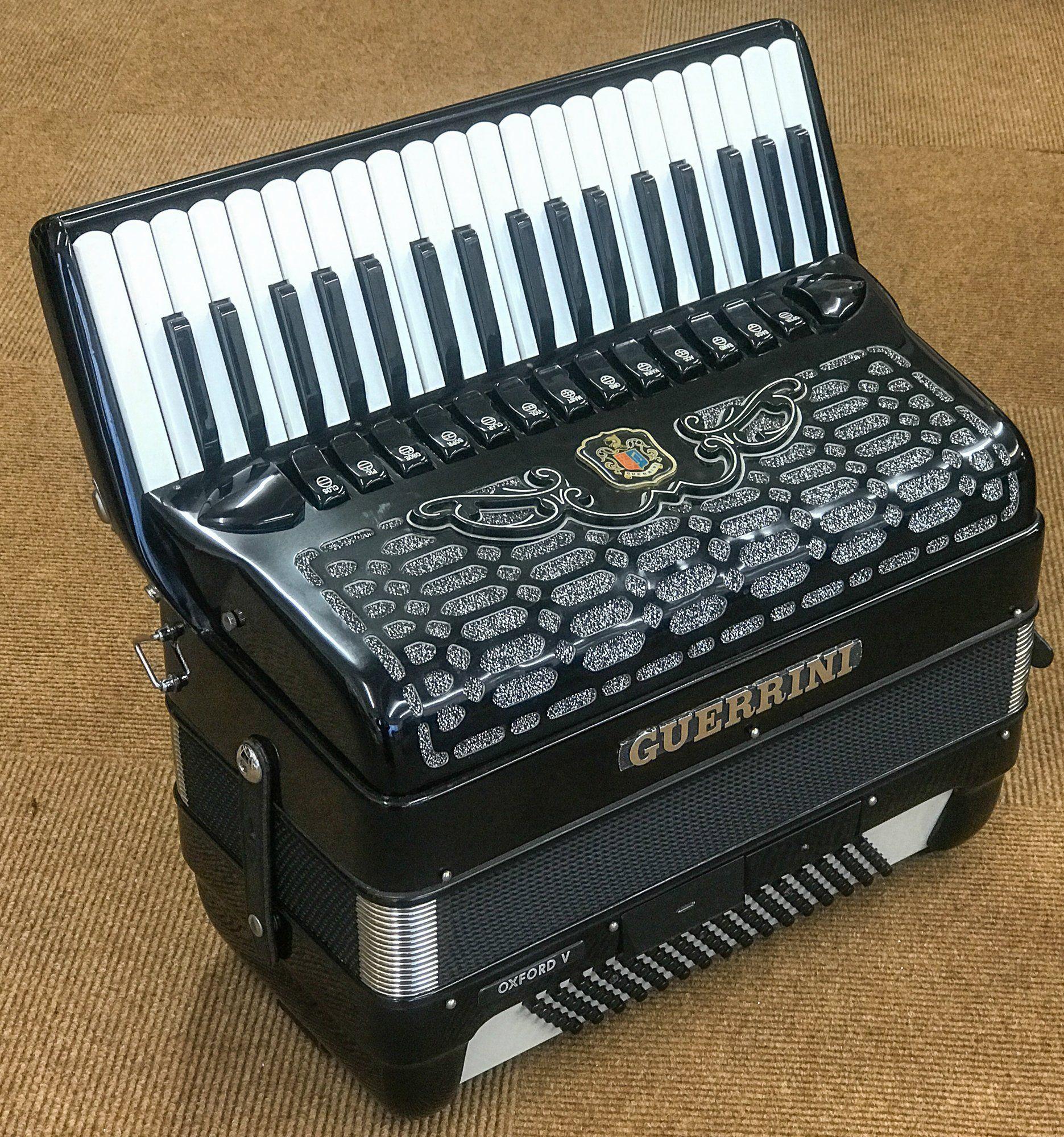 Guerrini Oxford V 96 bass Piano Accordion in 2019 | Piano