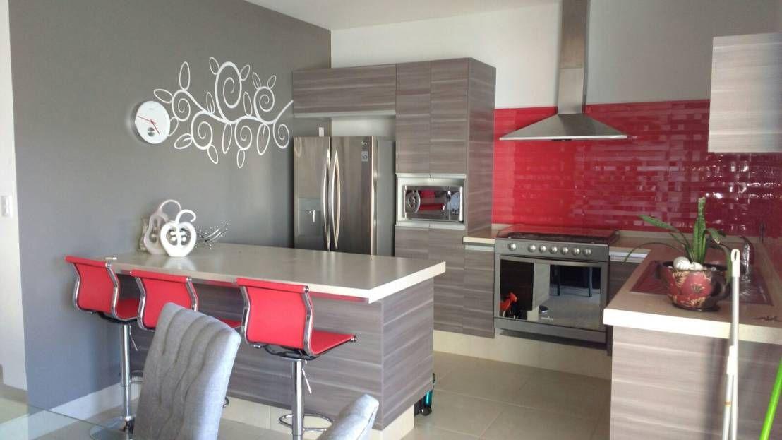 Cocinas modernas con isla, para casas no muy grandes   Dispuesta ...