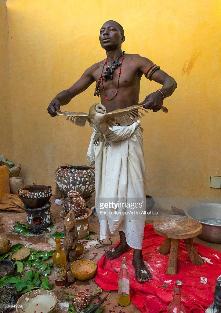 Fetish priest ritual shaman voodoo