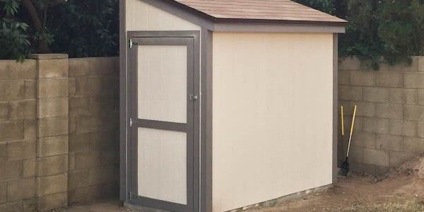 Garden Sheds 4 X 8 4x8 lean to shed with door on the end. | lean to shed plans