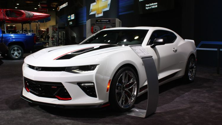 Chevy Loads Up Camaro Concept With Performance Parts Camaro