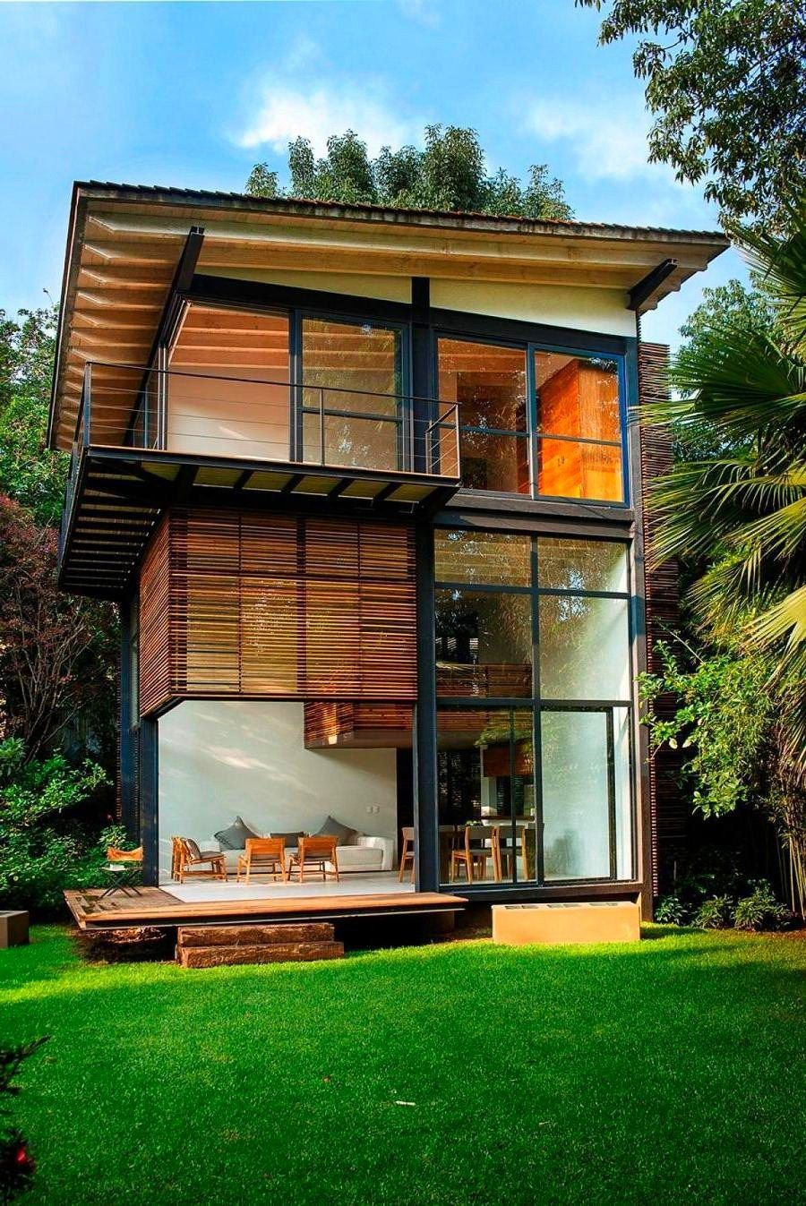 New Small Home Designs 2021 in 2020 | Wooden house design ...