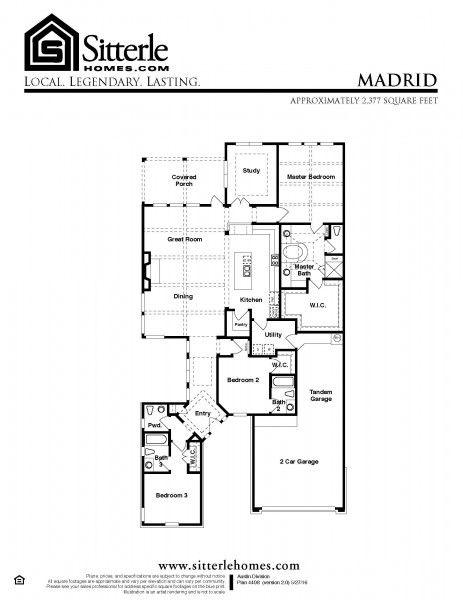 Madrid House Floor Plans Floor Plans Plans Modern