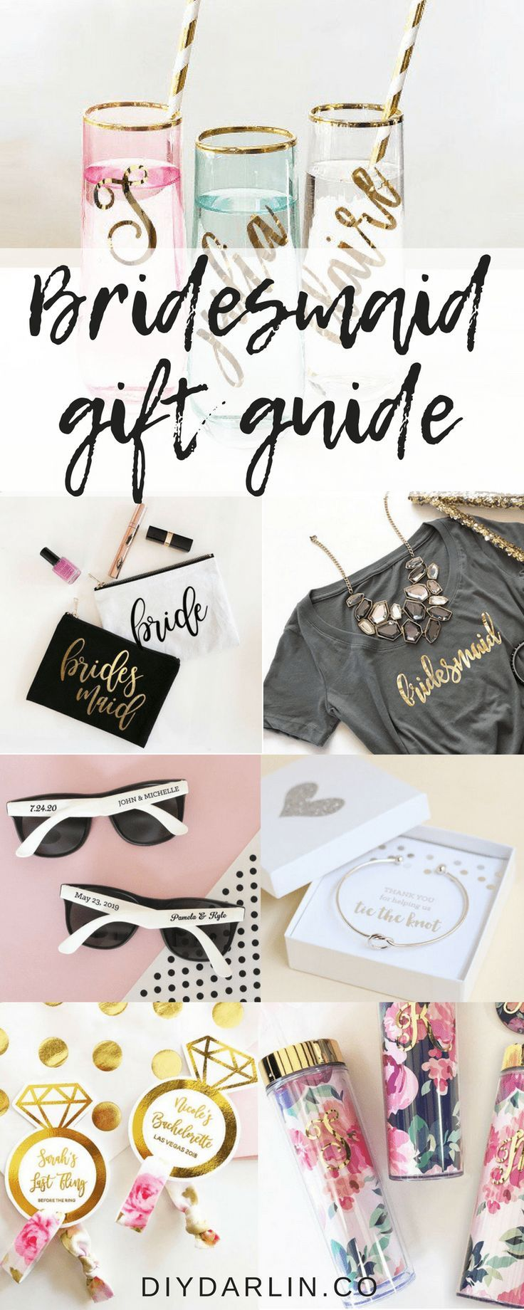 Unique And Personalized Bridesmaid Gifts You Will Love