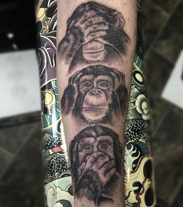 29 Monkey Tattoo Concepts Footage And Meanings Tattoos