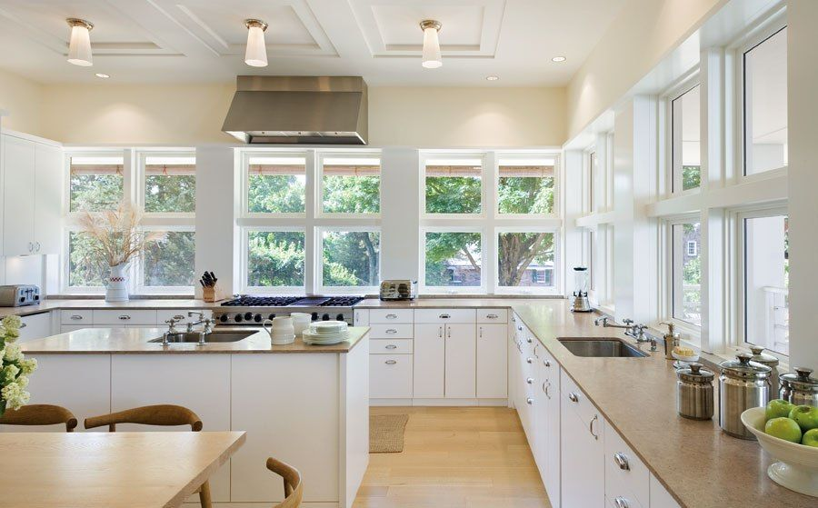 Kitchen Track Lighting | awesome white kitchen design for soft ...