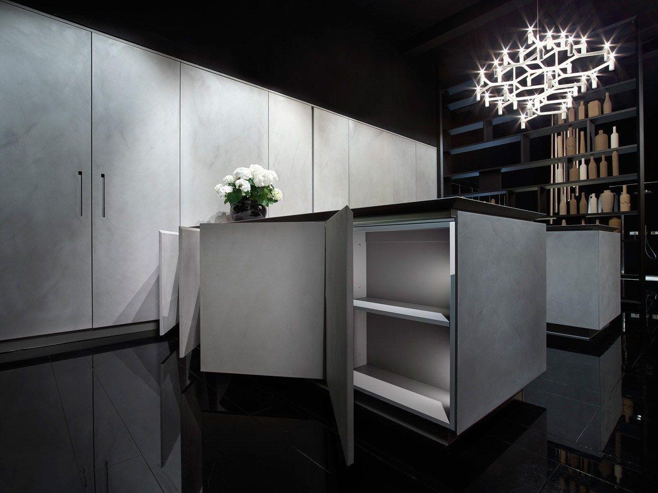 Fly Cement Kitchen By Rifra Design Rifra Lab Cement Kitchen Kitchen And Bath Design Kitchen Collection