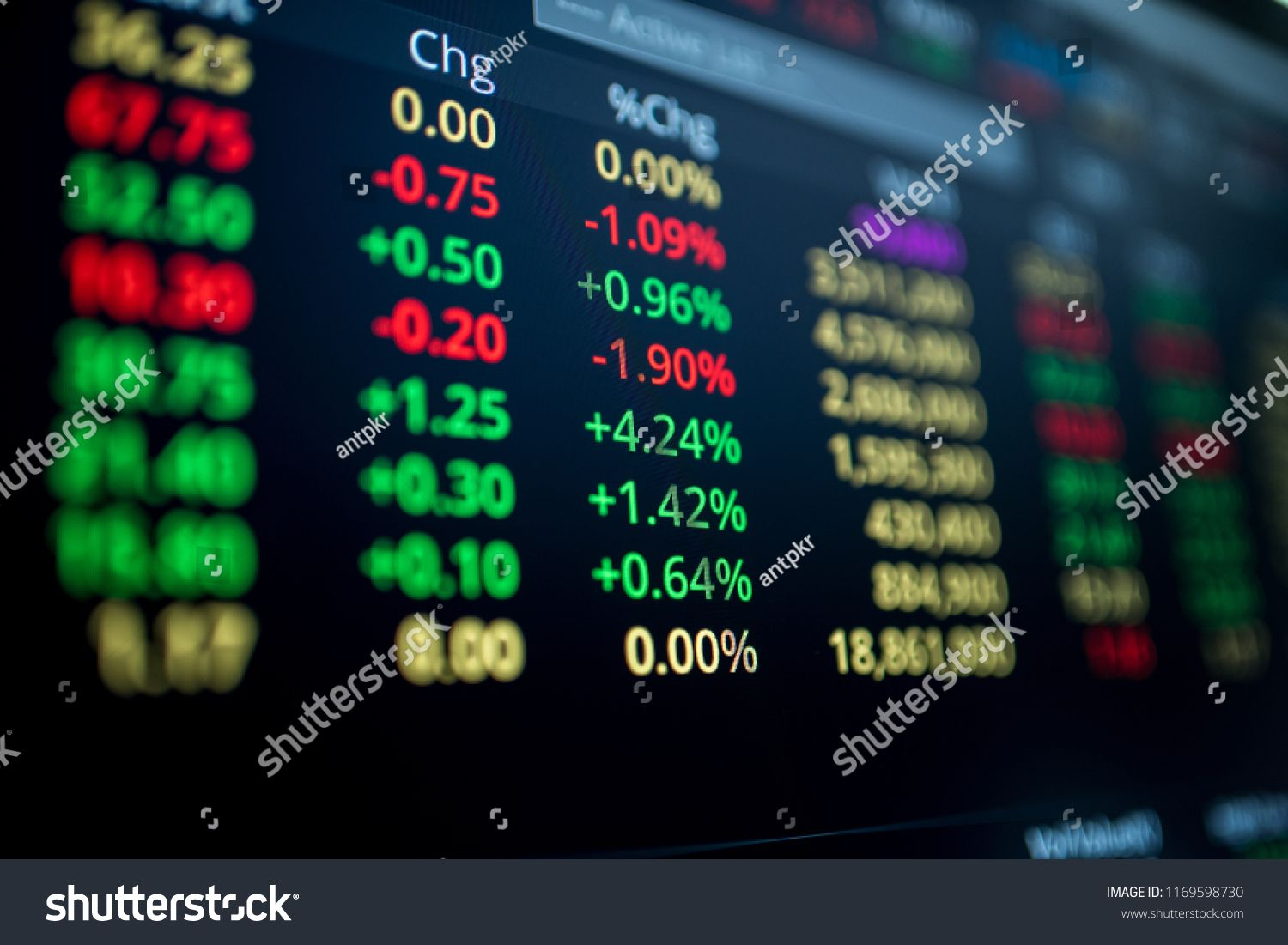 Display Of Stock Market Exchange Board Stock Display Market Board App Design Inspiration Stock Market App Design