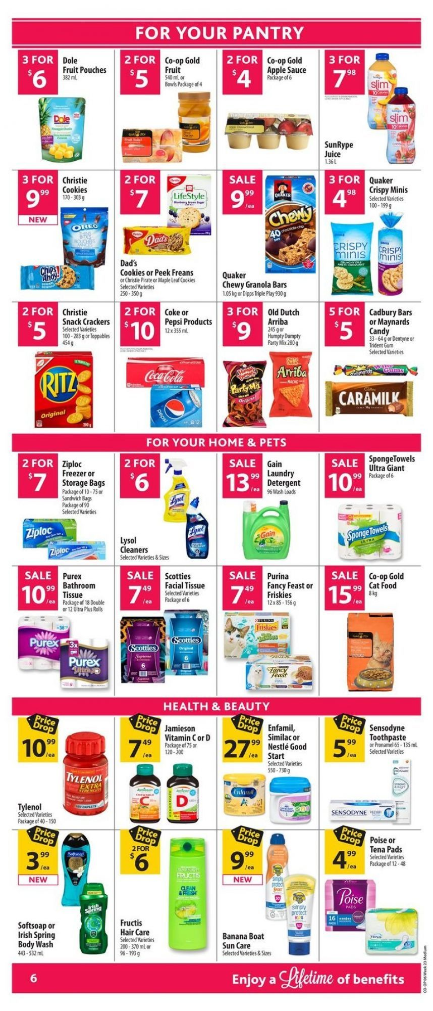 Flyer Co Op Food Mb Canada From Thursday May 31 2018 To Wednesday June 6 2018 Co Op Food Flyer Online Flyers