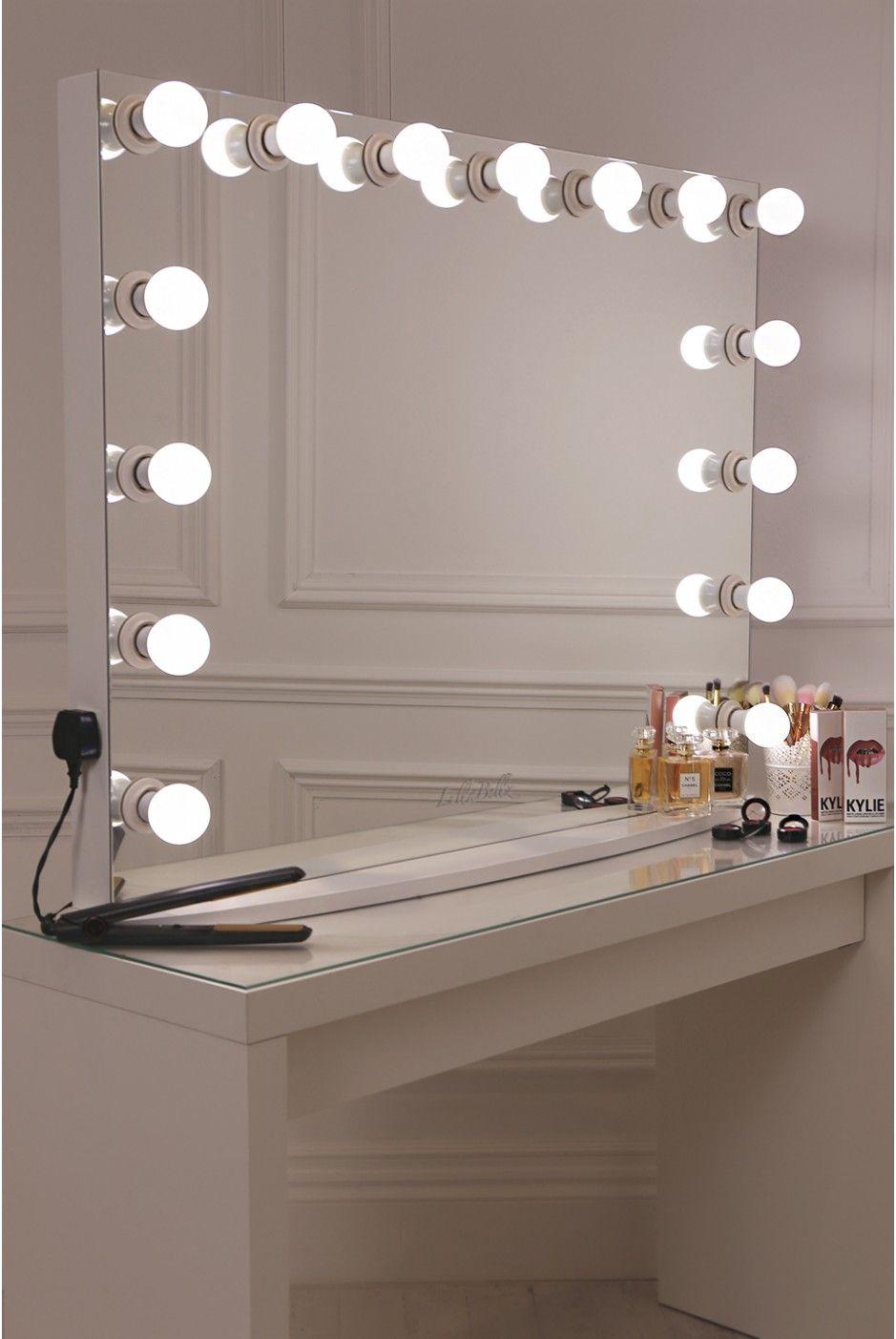 Lullabellz Hollywood Glow Xl Pro Vanity Mirror Kaptafel Ideeen