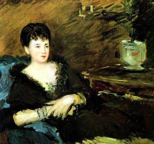 Édouard Manet Portrait of Isabelle Lemonnier ۩۞۩۞۩۞۩۞۩۞۩۞۩۞۩۞۩ Gaby Féerie créateur de bijoux à thèmes en modèle unique ; sa.boutique.➜ http://www.alittlemarket.com/boutique/gaby_feerie-132444.html ۩۞۩۞۩۞۩۞۩۞۩۞۩۞۩۞۩