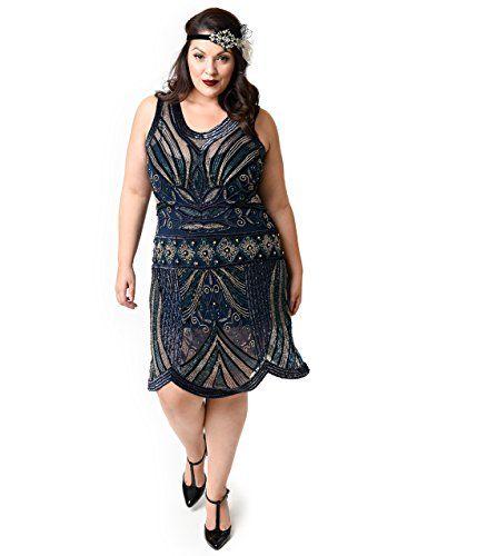 Plus Size Flapper Dress 4x Erkalnathandedecker