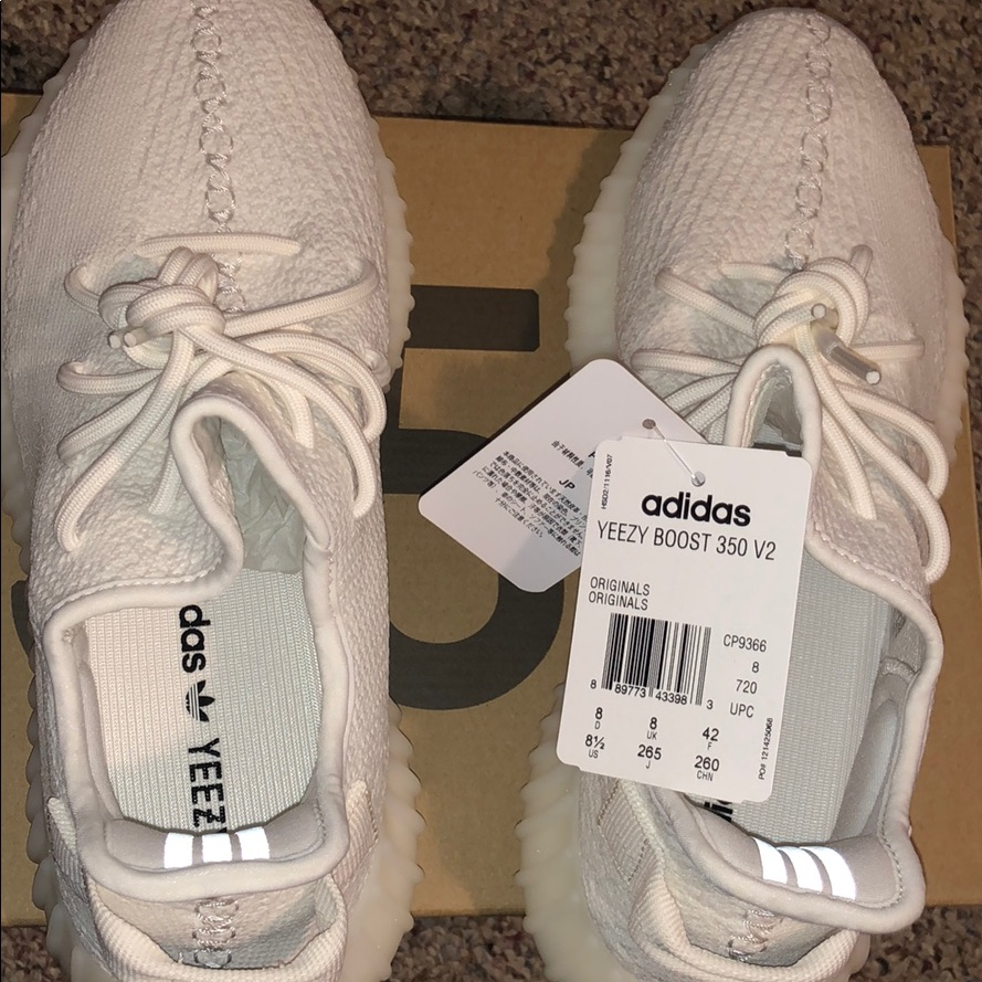Yeezy Shoes Adidas Yeezy Boost 350 V2 Triple White Color